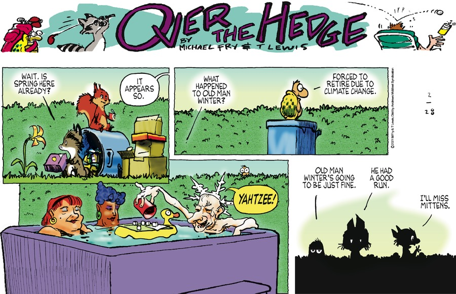 Over the Hedge Comic Strip for February 28, 2021