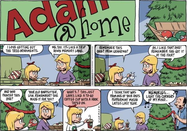Adam@Home on Sunday December 10, 2017 Comic Strip