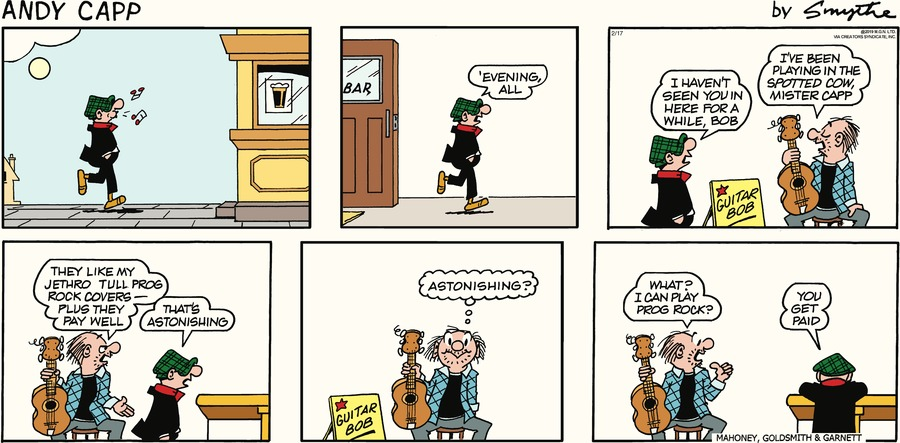 Andy Capp Comic Strip for February 17, 2019