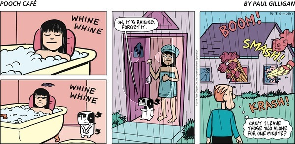 Pooch Cafe - Sunday October 13, 2019 Comic Strip