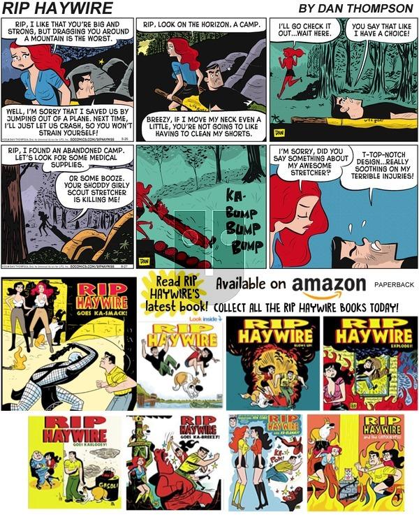 Rip Haywire on Sunday October 6, 2019 Comic Strip