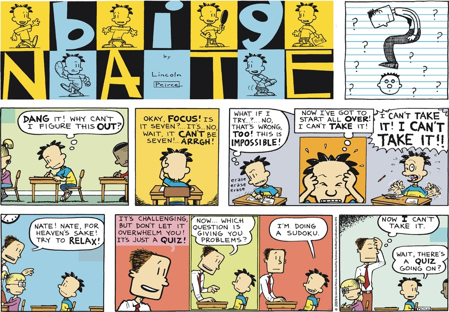 Big Nate Comic Strip for March 18, 2018