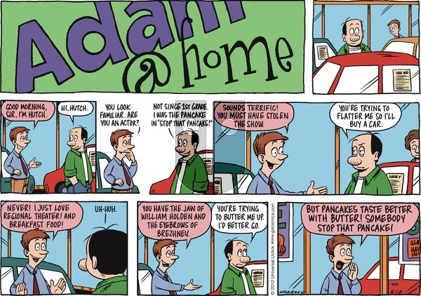 Adam@Home on Sunday June 17, 2012 Comic Strip