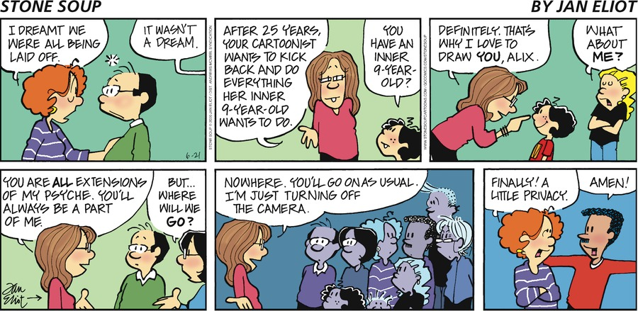 Stone Soup Comic Strip for June 21, 2020