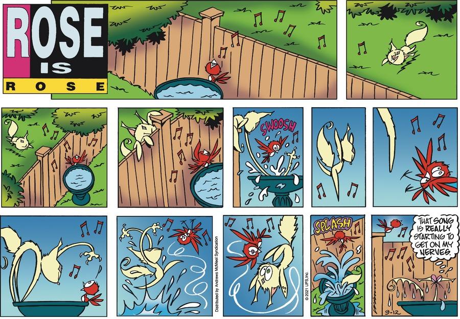 Rose is Rose Comic Strip for September 12, 2021
