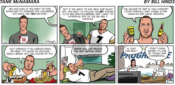 Tank McNamara - Sunday January 31, 2021 Comic Strip
