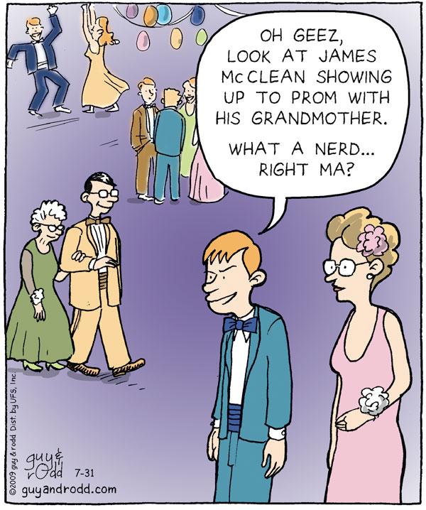 Brevity for Jul 31, 2009 Comic Strip