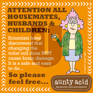 Aunty Acid on Tuesday October 1, 2019 Comic Strip