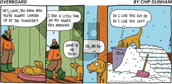 Overboard on Sunday February 14, 2021 Comic Strip