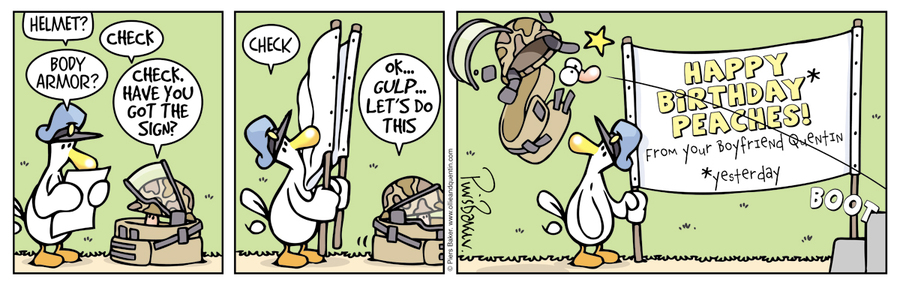 Ollie and Quentin Comic Strip for March 26, 2016