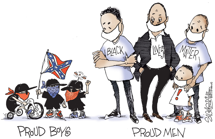 Signe Wilkinson Comic Strip for July 19, 2020