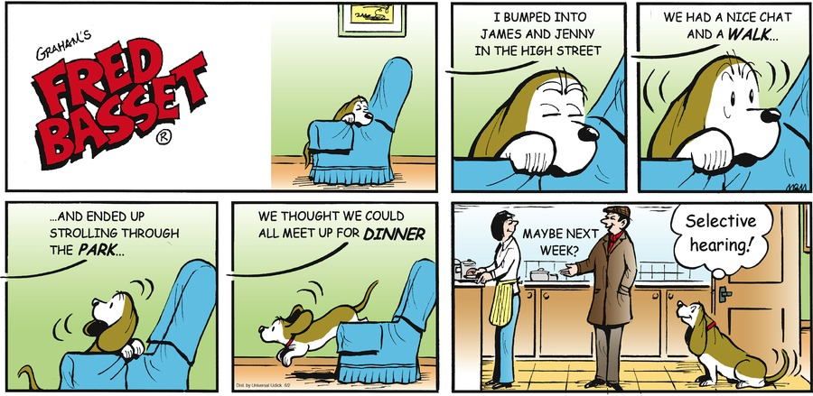 Fred Basset for Jun 2, 2013 Comic Strip
