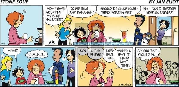 Stone Soup on Sunday November 17, 2019 Comic Strip