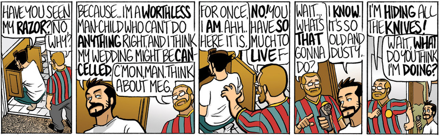 Beardo for Feb 16, 2013 Comic Strip