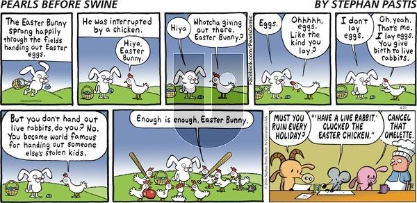 Pearls Before Swine on Sunday April 20, 2014 Comic Strip