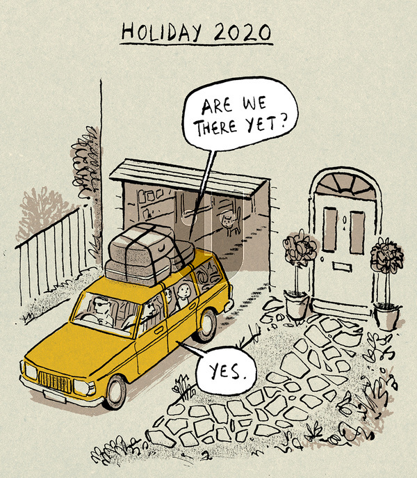 Berger & Wyse - Monday September 7, 2020 Comic Strip