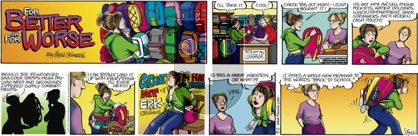 For Better or For Worse on Sunday September 2, 2007 Comic Strip