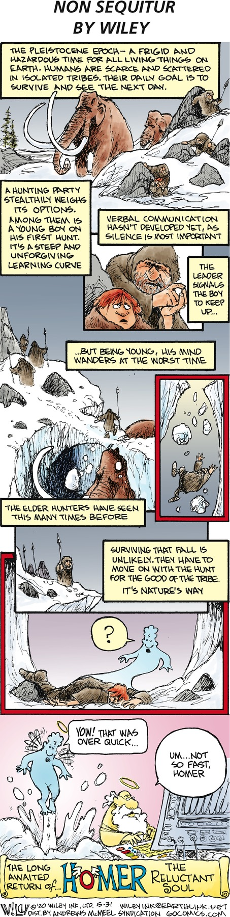 Non Sequitur Comic Strip for May 31, 2020