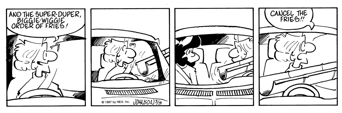 Arlo and Janis Comic Strip for March 19, 1997