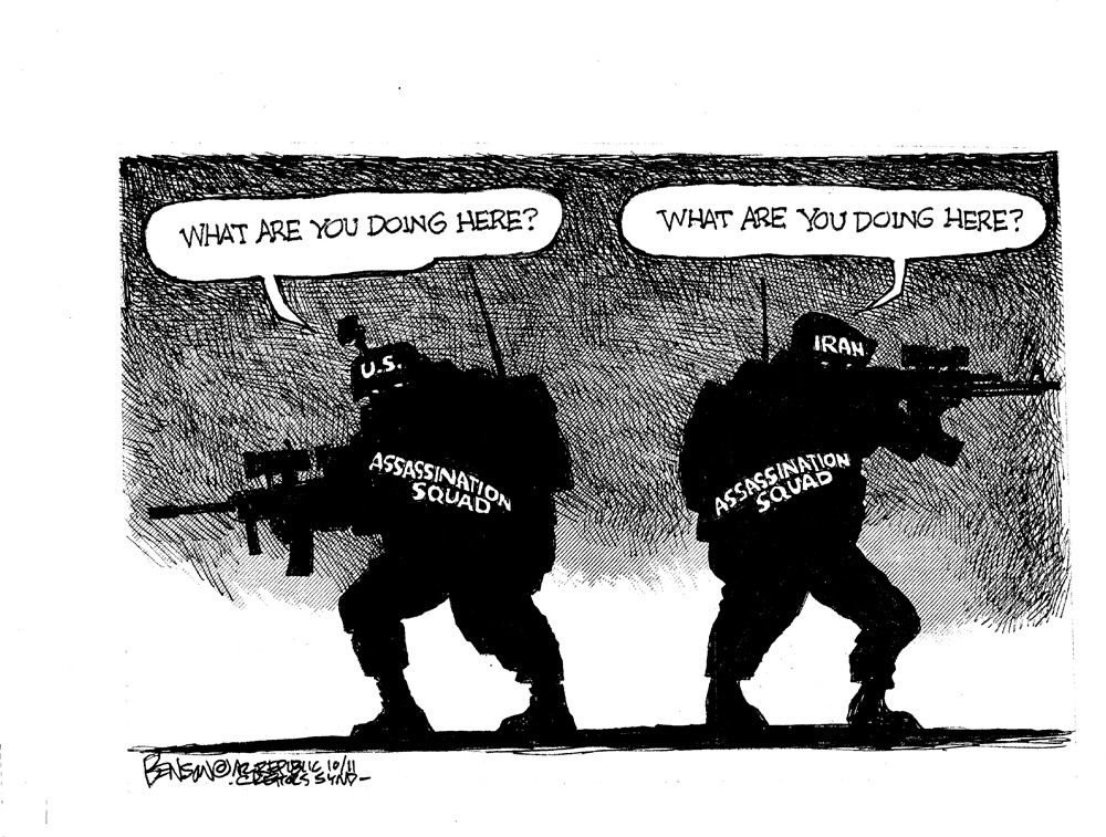 Steve Benson Comic Strip for October 14, 2011
