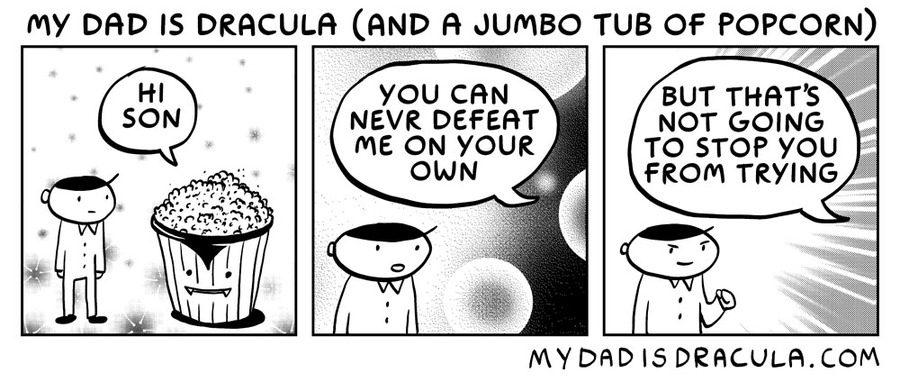 My Dad is Dracula Comic Strip for July 08, 2020