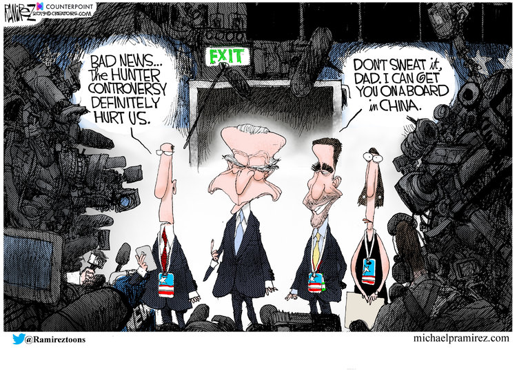 Michael Ramirez Comic Strip for October 18, 2019