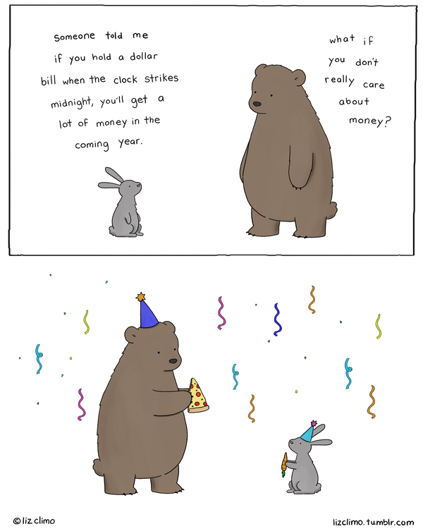 Liz Climo Cartoons Comic Strip for January 01, 2020