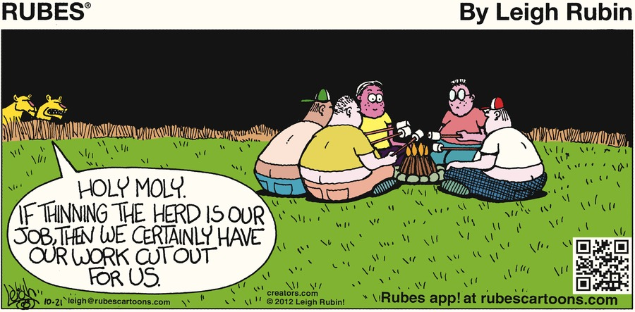 Rubes for Oct 21, 2012 Comic Strip
