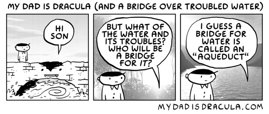 My Dad is Dracula Comic Strip for June 30, 2020