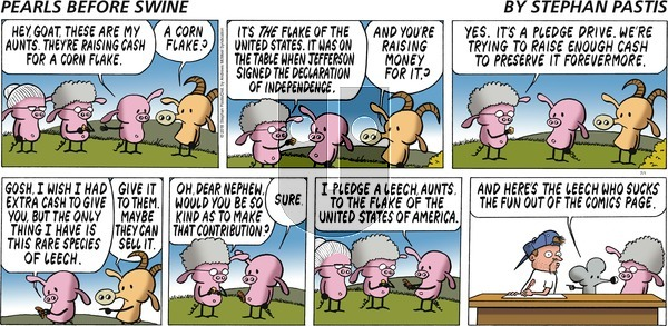 Pearls Before Swine on Sunday July 1, 2018 Comic Strip
