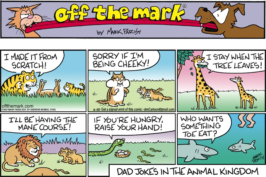 Off the Mark Comic Strip for June 20, 2021