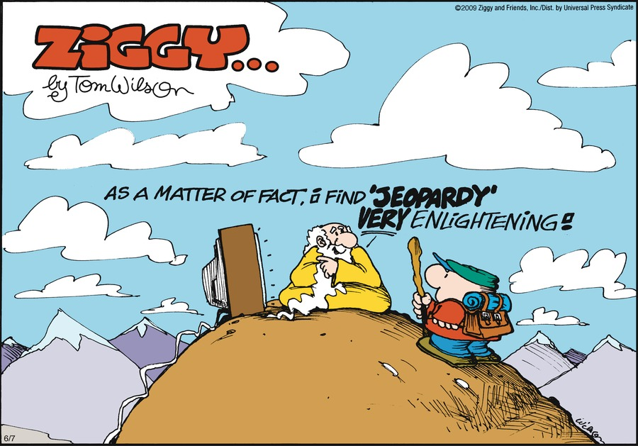 Ziggy for Jun 7, 2009 Comic Strip