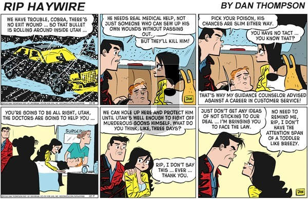 Rip Haywire on Sunday March 1, 2020 Comic Strip