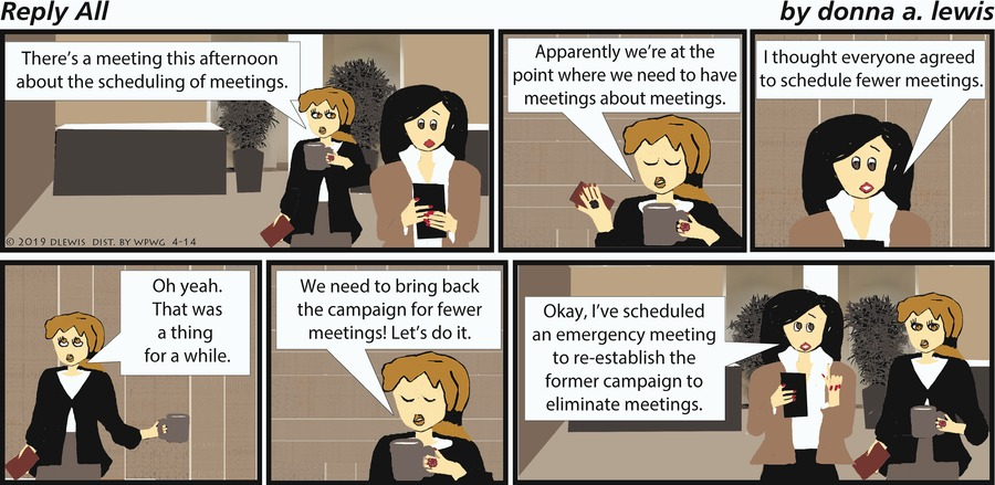 Reply All Comic Strip for April 14, 2019