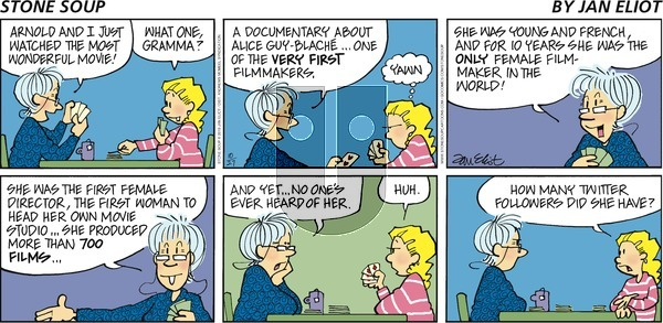 Stone Soup - Sunday October 27, 2019 Comic Strip