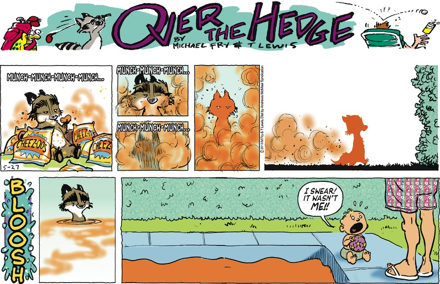 Over the Hedge Comic Strip for May 27, 2018