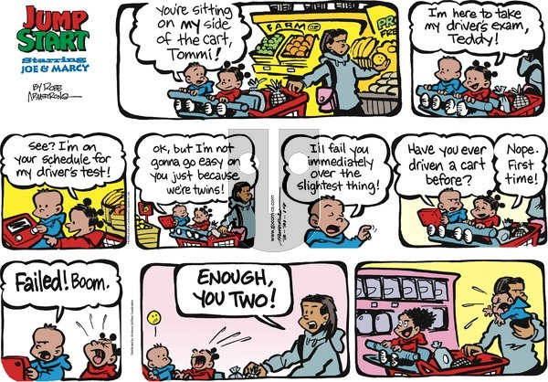 JumpStart on Sunday March 31, 2019 Comic Strip