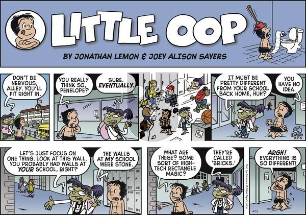 Alley Oop - Sunday April 12, 2020 Comic Strip