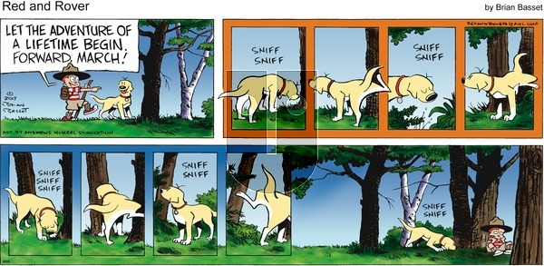 Red and Rover on Sunday September 26, 2021 Comic Strip