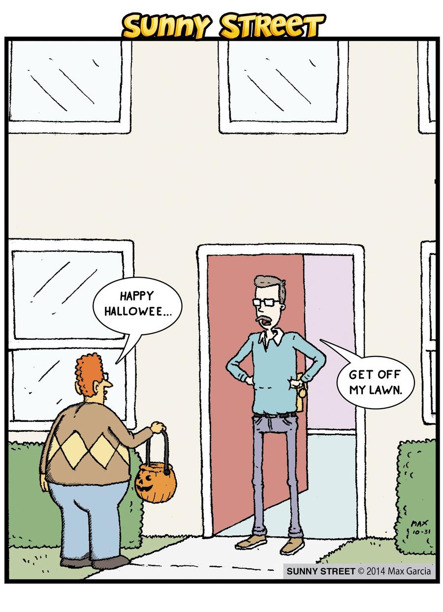 Sunny Street Comic Strip for October 31, 2014