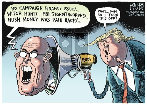 Rob Rogers on Sunday May 6, 2018 Comic Strip