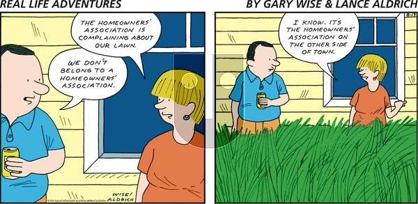 Real Life Adventures on Sunday August 19, 2018 Comic Strip