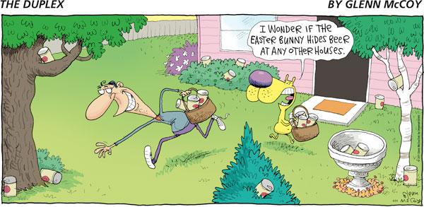 The Duplex for Apr 24, 2011 Comic Strip