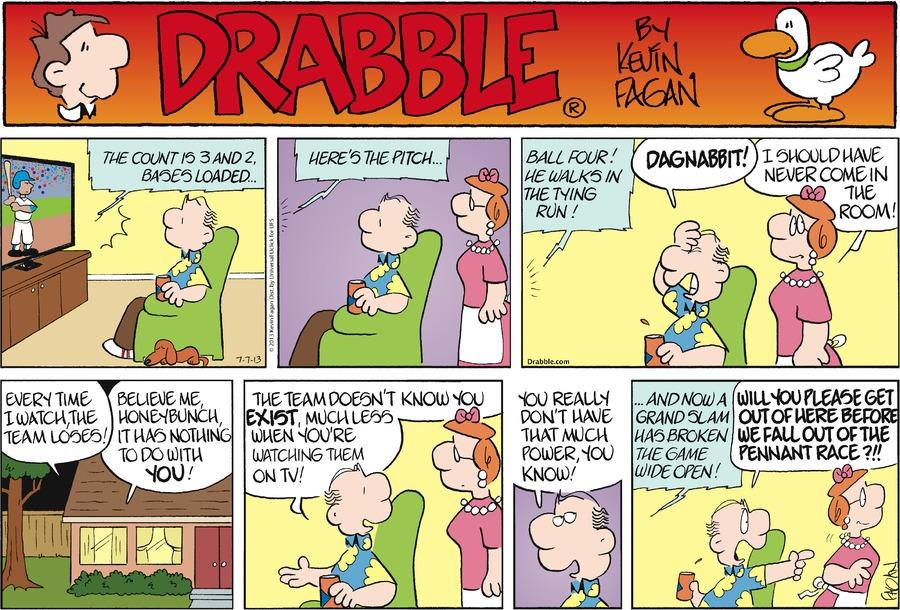 Drabble for Jul 7, 2013 Comic Strip