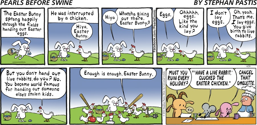 Pearls Before Swine for Apr 20, 2014 Comic Strip