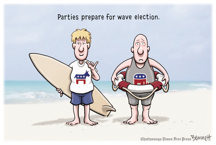 Clay Bennett Comic Strip for May 01, 2018