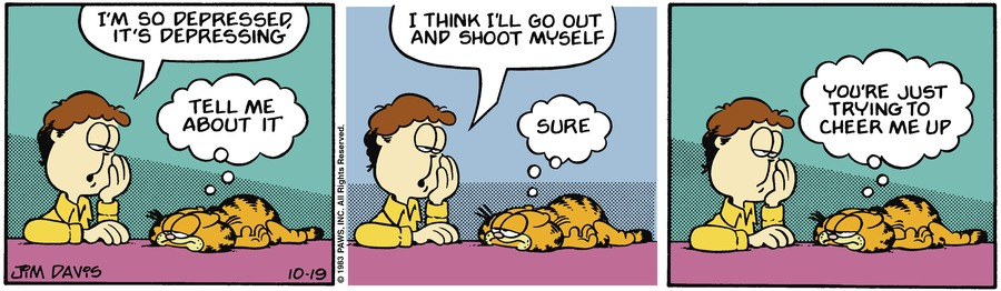 Garfield Classics by Jim Davis on Sun, 24 Oct 2021