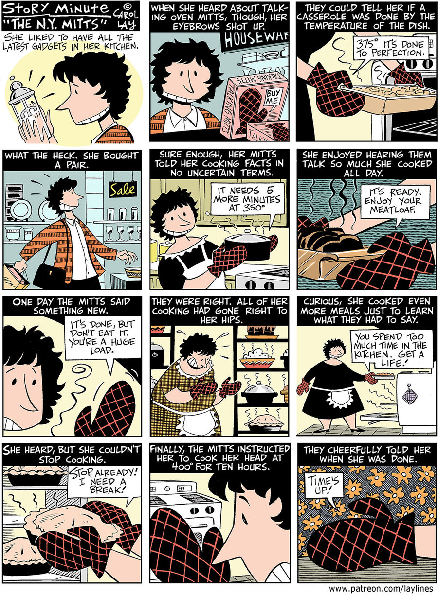 Lay Lines Comic Strip for October 17, 2018