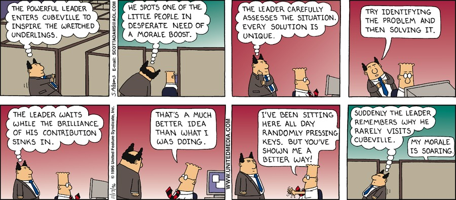 Dilbert Classics Comic Strip for October 18, 2020