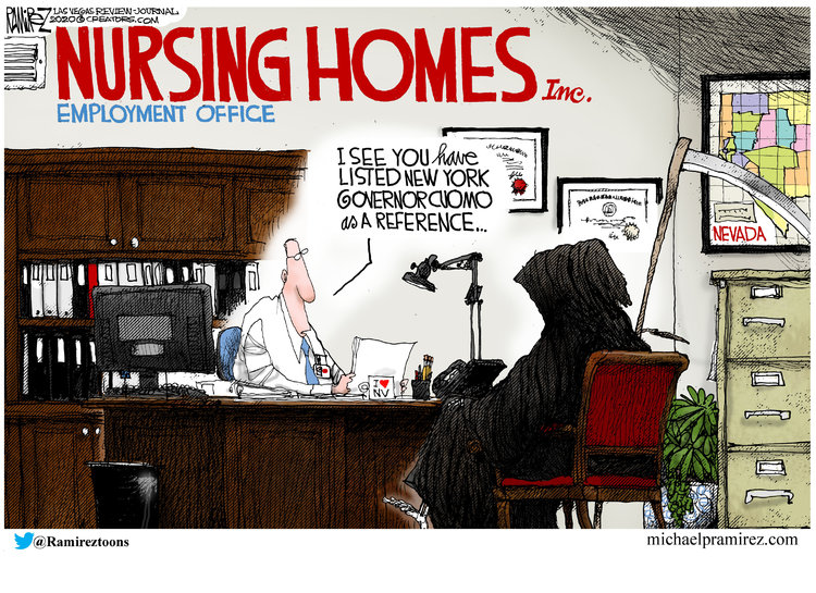 Michael Ramirez Comic Strip for May 26, 2020
